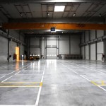 Rocland Qualiroc dry shake surface hardener for concrete floors