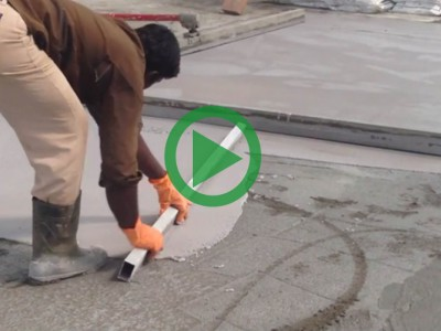 Wet-On-Wet Concrete Floor Surface Hardener Application