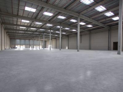 Distribution centre, featuring Rocland Qualiroc surface hardener