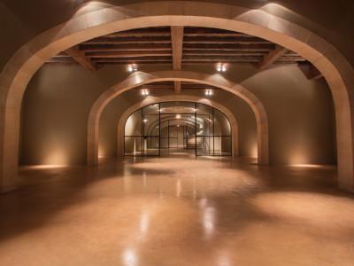 Wine cellar, featuring Rocland Qualiroc surface hardener